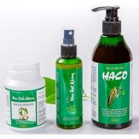 Bộ 3 Tóc Haco - Khắc Tinh Của Rụng Tóc, Hói Đầu, Tóc Bạc Sớm