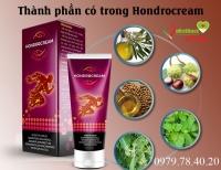 Hondrocream hỗ trợ điều trị các cơn đau xương khớp